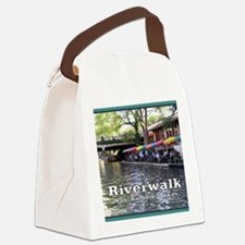 Riverwalk, San Antonio,TEXAS Canvas Lunch Bag
