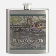 Riverwalk, San Antonio,TEXAS Flask