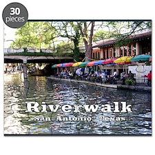 Riverwalk, San Antonio,TEXAS Puzzle