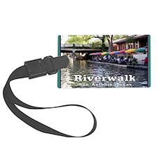 Riverwalk, San Antonio,TEXAS Luggage Tag