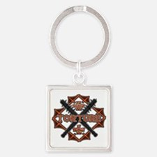 Torture by the Bay2 Square Keychain