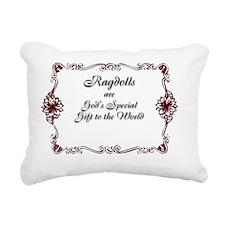 2-Sammie2 Christmas Card Rectangular Canvas Pillow