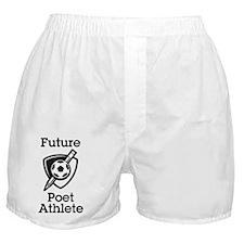 Future Poet Athlete Logo Boxer Shorts