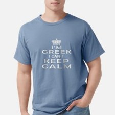 I Am Greek I Can Not Keep Calm T-Shirt