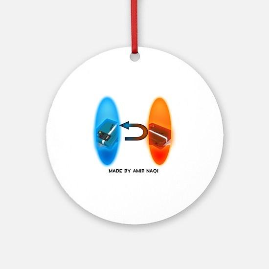 Portal Intel Steal Round Ornament