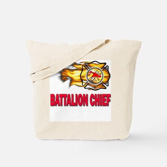 Fire Battalion Chief Tote Bag