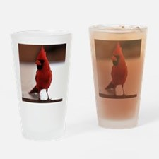 cardinal_square Drinking Glass