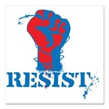 Resist Square Car Magnets