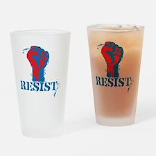 Resist Drinking Glass