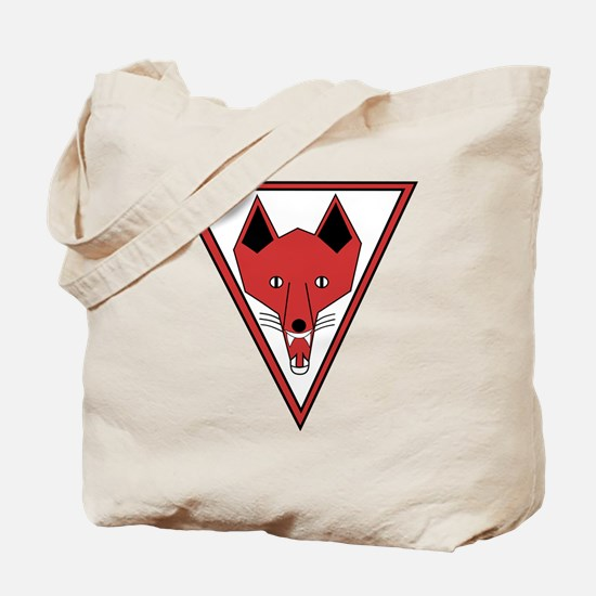u-255_Grinning Fox Tote Bag
