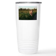 izzy run edit Travel Mug
