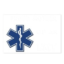 proud mother emt white Postcards (Package of 8)