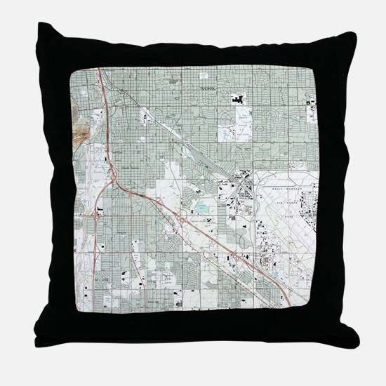 Unique Tucson Throw Pillow