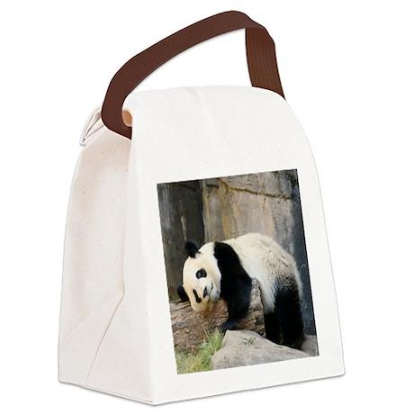Copy of panda1 Canvas Lunch Bag