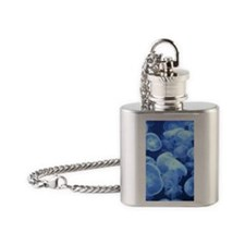 Jellyfish 1 Flask Necklace