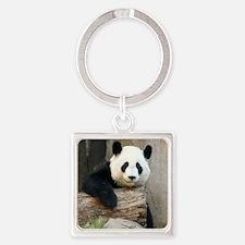 Copy of panda3 Square Keychain
