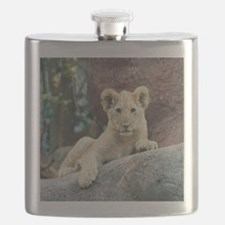 Copy of lion cub Flask