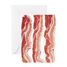bacon-in-streifen Greeting Card