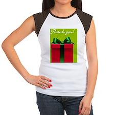 Thank you Christmas pac Women's Cap Sleeve T-Shirt