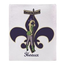 heaux-de-lis-LTT Throw Blanket