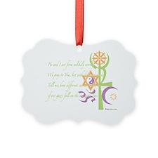 Multi Faith Praywear Ornament