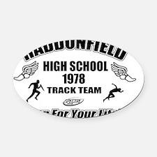 Haddonfield Track Oval Car Magnet