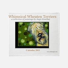 calendartemplatewhe444 Throw Blanket