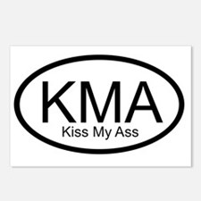 kma_kiss_my_ass Postcards (Package of 8)