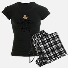 Stupid Farm Pajamas