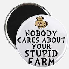 Stupid Farm Magnet
