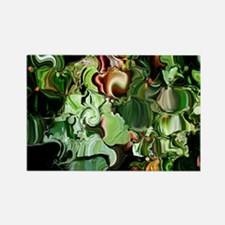 Emeralda Rectangle Magnet
