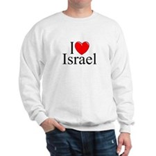 """I Love Israel"" Sweatshirt"