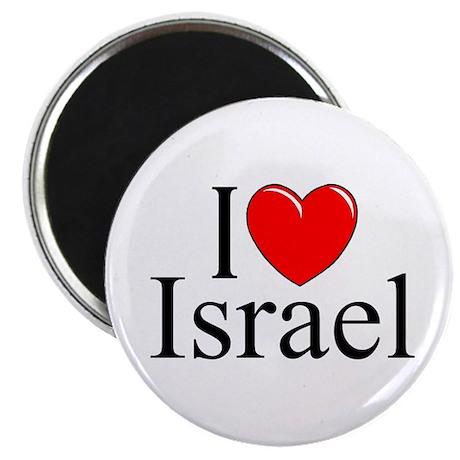 """""""I Love Israel"""" Magnet"""