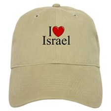 """I Love Israel"" Baseball Cap"