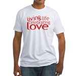 Celebrate Love Fitted T-Shirt