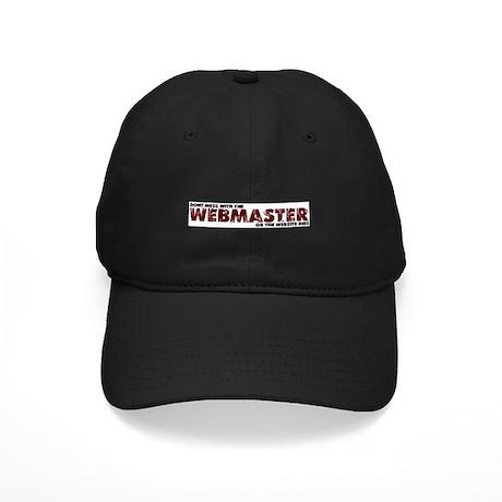 Webmaster Black Cap