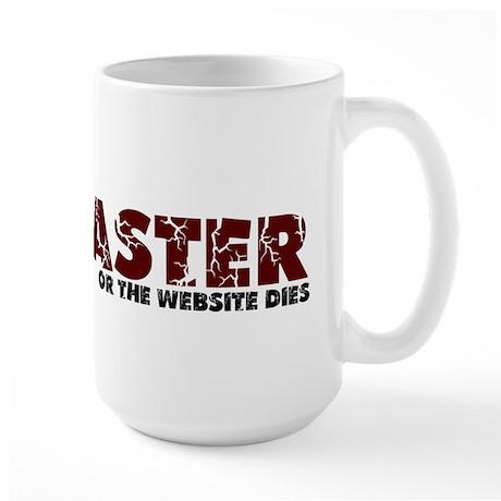 Webmaster Large Mug