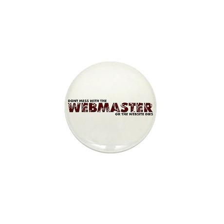 Webmaster Mini Button (100 pack)