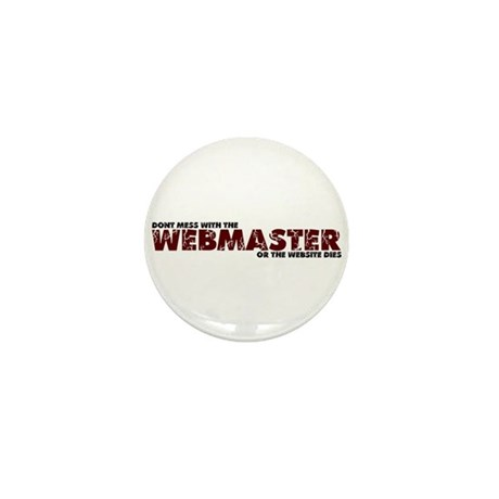 Webmaster Mini Button (10 pack)