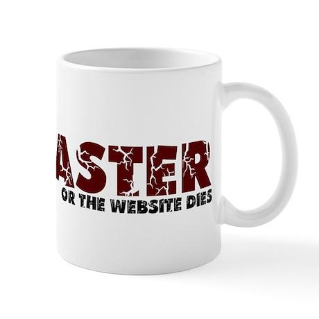 Webmaster Mug