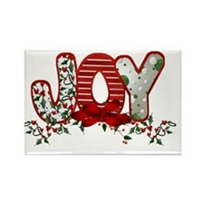 Christmas Joy Rectangle Magnet