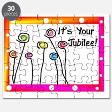 Its Your Jubilee Polka dots Puzzle