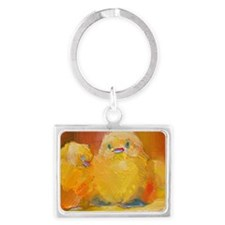 Alica and Friends Landscape Keychain