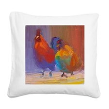 michael and brian Square Canvas Pillow