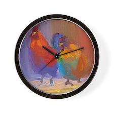 michael and brian Wall Clock
