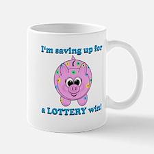 Lottery Piggy Bank Mugs