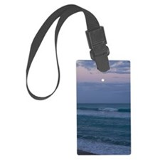 Violet Night Luggage Tag