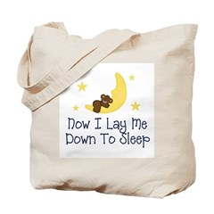 Now I Lay Me Down to Sleep Tote Bag