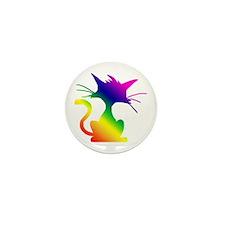 Cat Mini Button (100 pack)