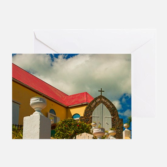 St. Anne Pray for Us Greeting Card